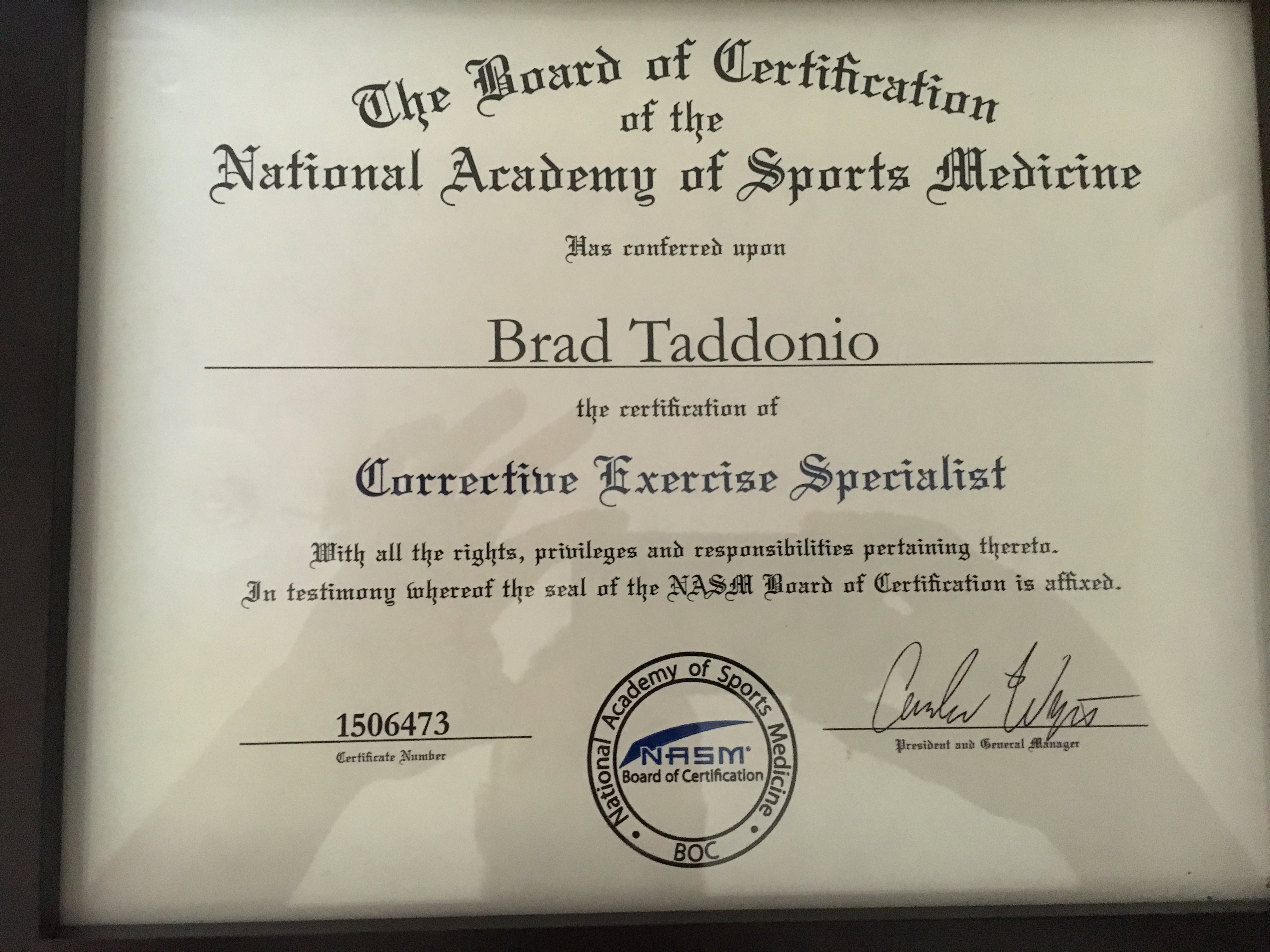 Bradley taddonio personal trainer profile guided fitness nasm corrective exercise specialist 1betcityfo Choice Image