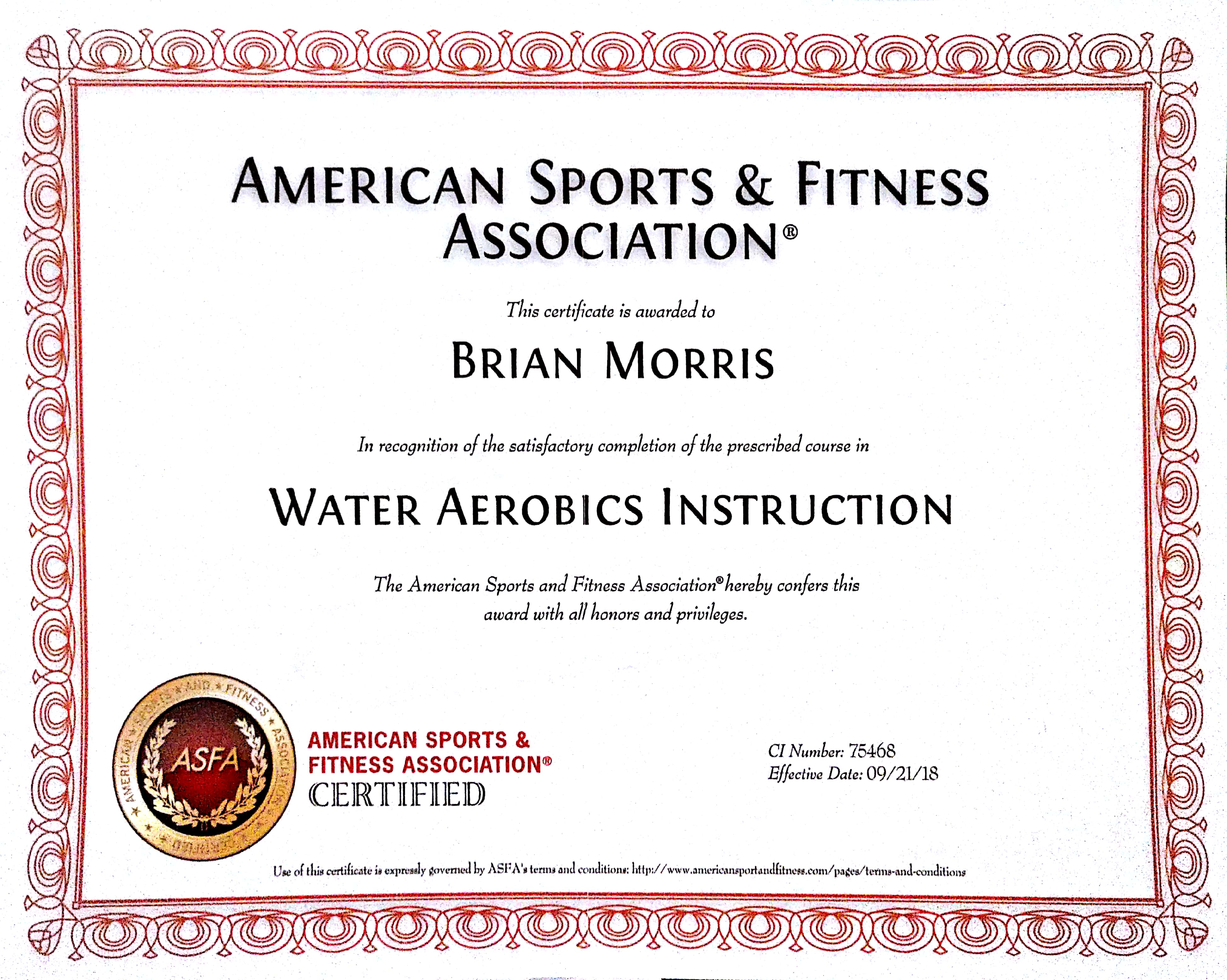 Brian Morris Group Fitness Instructor Profile Guided Fitness