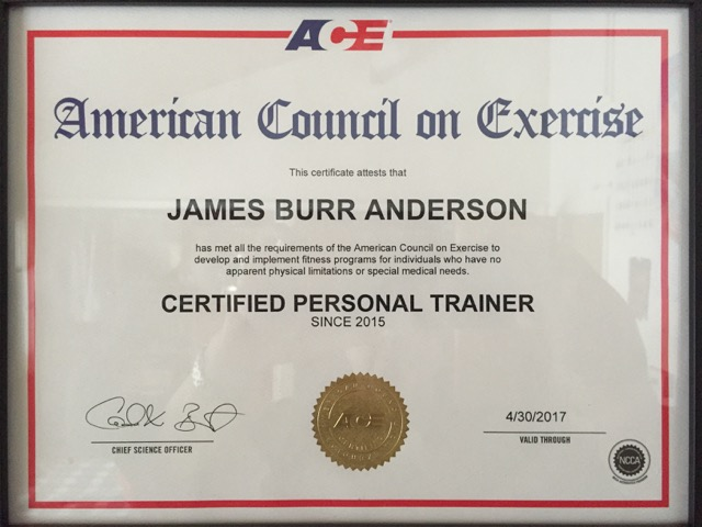 James Anderson Personal Trainer Profile - Guided Fitness
