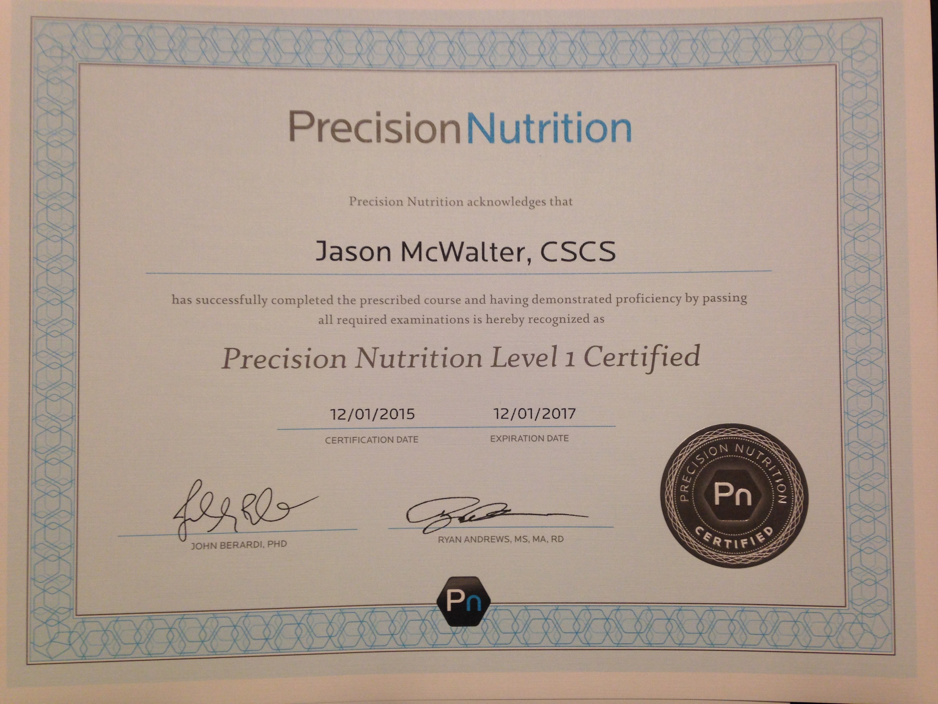 Jason Mcwalter Personal Trainer Profile Guided Fitness