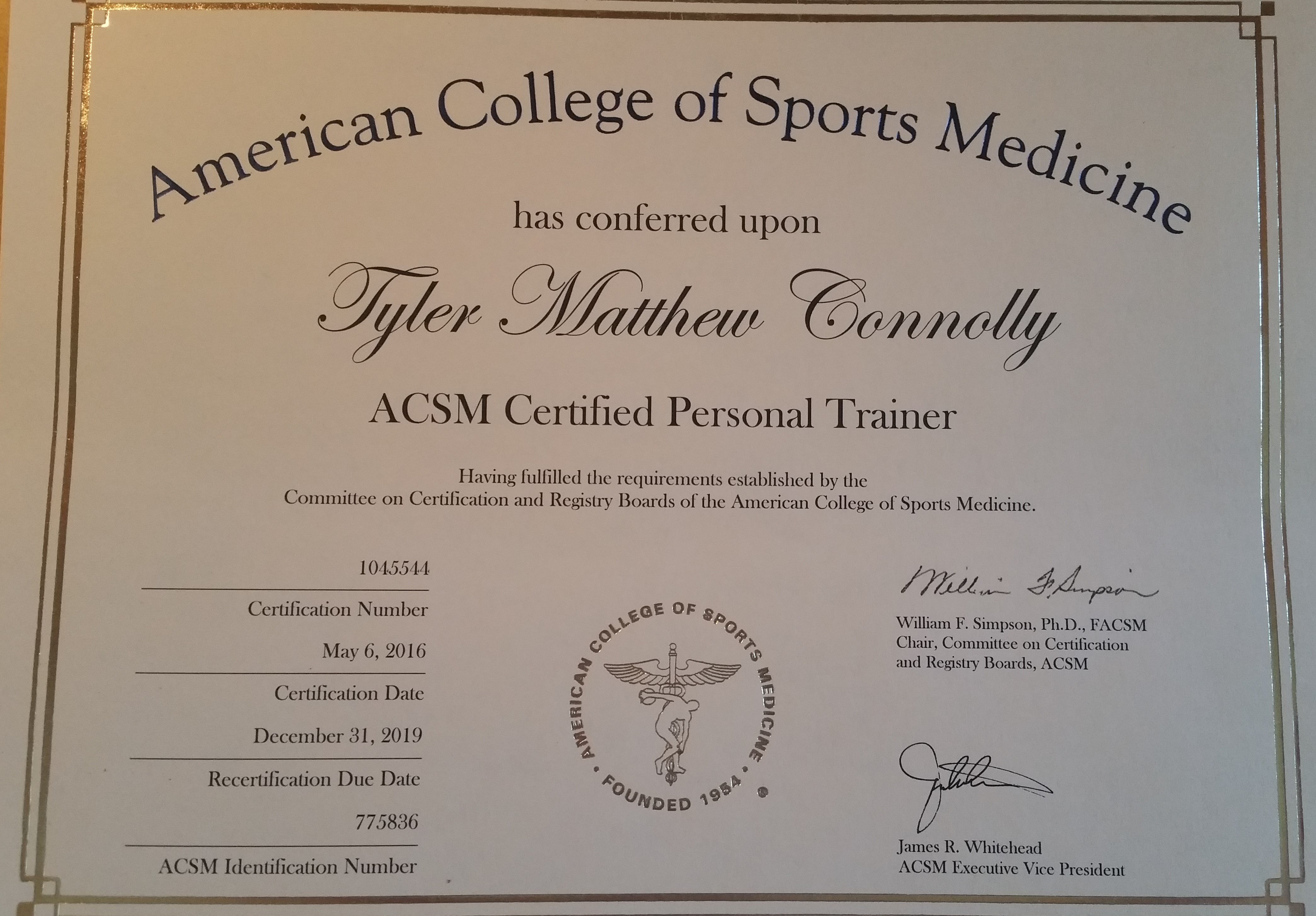 Acsm Personal Trainer Certification Choice Image Creative